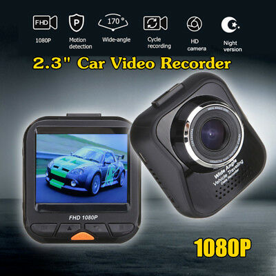 1080P HD Dash Cam Night Vision Car DVR 3.0'' LCD Camera Video Recorder G-sensor