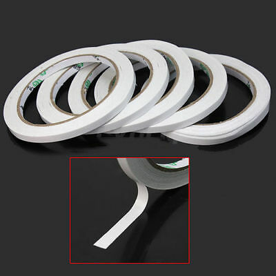 5 Rolls 6mm Double Sided Super Strong Adhesive Tape for DIY Craft Brand DA