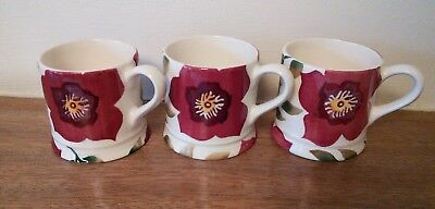 Emma Bridgewater mini mugs x 3