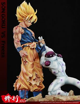 Dragonball Z Goku Vs Freeza Battle Crushes Resin Statue Diorama New
