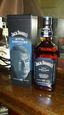 "Jack Daniels Master Distiller #6 James Howard ""Jimmy"" Bedford"