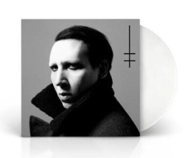Marilyn Manson Heaven Upside Down Limited Lp Album White Vinyl 2017 Sealed !