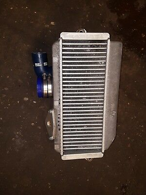subaru impreza 1998-2001 top mounted intercooler and samco y pioe