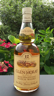 Rare Whisky Glen Moray 12 years 75cl and 43%  No box