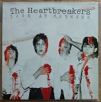 HEARTBREAKERS Live At Mothers JOHNNY THUNDERS   RICHARD HELL Live NYC 1976