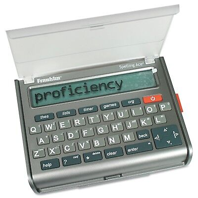 Franklin Electronic Publishers Spelling Merriam Webster Crossword Puzzle Solver