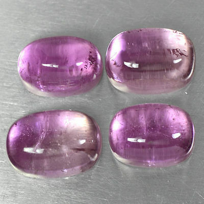74.75 cts Natural AAA+ Pink Kunzite Cushion Cab Mix Sizes Lot Afghanistan Parcel