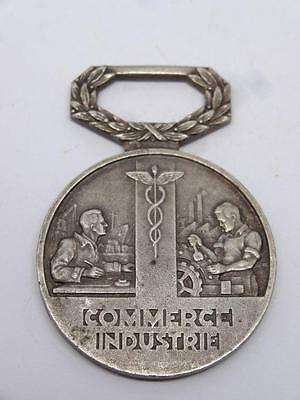 France Medal of the General Syndicate of Commerce & Industry By Arthus Bertrand