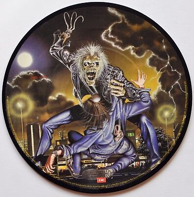 "Iron Maiden Bring Your Daughter 7"" Brain Pack Picture Disc Heavy Metal"