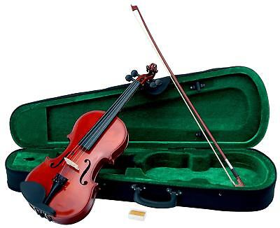 Violin Fiddle String Orchestra Instrument Set With Bow Case Storage Compartment