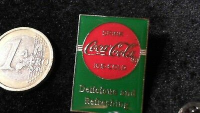 Coca Cola Pin Badge ICE-COLD Delicious and Refreshing