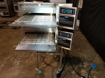 TURBOCHEF hhc2020 DOUBLE STACK CONVEYOR PIZZA OVEN...... VIDEO DEMO..REFURBISHED