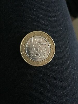 Rare Coin - invention industry 2 pound coin