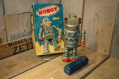 Alps - Door Robot Space Japan with Original Sonsco Box and Inserts !   Rare  !