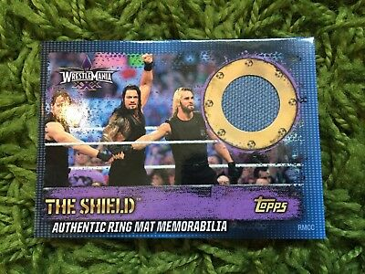 Slam Attax 10 Ring Mat Card - The Shield