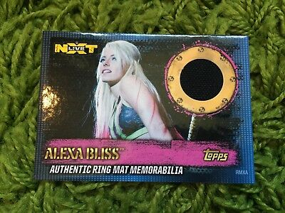 Slam Attax 10 Ring Mat Card - Alexa Bliss - RARE