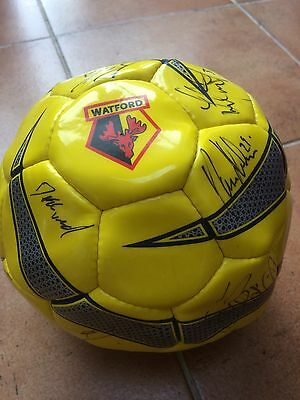 1999 Watford FC football, SIGNED by the squad that were promoted to the EPL