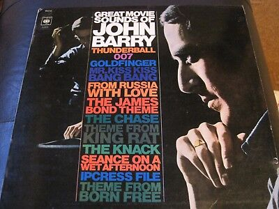 JOHN BARRY - Great Movie Sounds UK vinyl LP