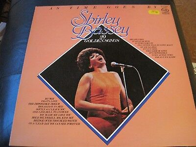 SHIRLEY BASSEY - AS Time Goes By UK vinyl LP