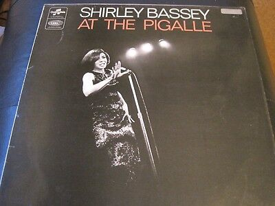 SHIRLEY BASSEY - At The Pigalle UK vinyl LP