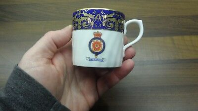 Britannia Cabinet Cup By Museum Collection Ltd Fine Bone China Made In The Uk