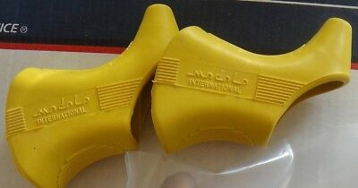 NOS MODOLO 920 Brake Hoods Yellow NOS fit campagnolo+ others L'Eroica