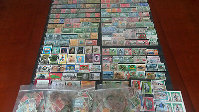 Collection of more than 1,650 stamps from Jamaica