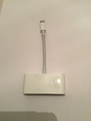 Genuine Apple Lightning to VGA Adapter , model 1439 For iPhone And iPad