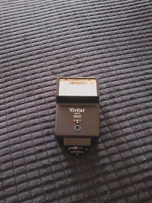 Vivitar Auto 2600 Electronic Flash Unit - not tested