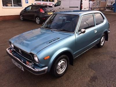 1975 Honda Civic 3 Al Hondamatic, 28500 Miles, One Of The Oldest Civics In Uk