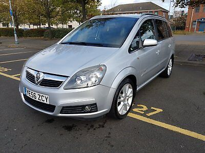 Vauxhall Zafira 2.2 direct petrol 16v ( 147ps ) auto Design - 2006 56 7 seater