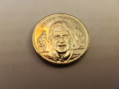 Clashes Ashes 1990/91 Geoff Marsh commemorative coin