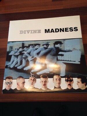 MADNESS: Divine (2x LP 1992) Best Of / Greatest Hits  V2692 304517 Excellent