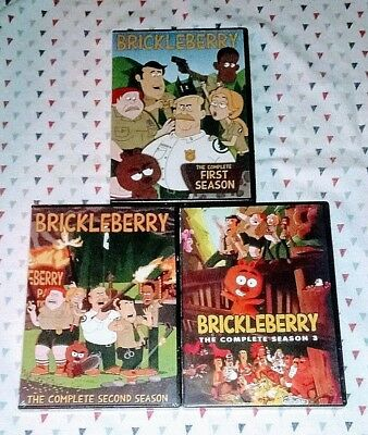 New! Brickleberry: Complete Tv Series. Seasons 1 2 3. 6 Dvd Bundle. Ships Free