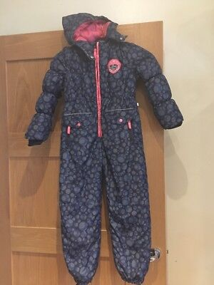 Girl's All In One Ski Suit Age 6