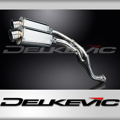 Delkevic Yamaha Exhaust Silencers YZF-R1 (2009-2014) 304 Stainless Steel 225mm