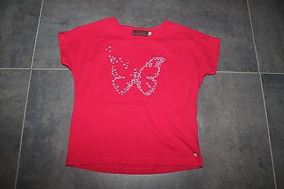 Tee Shirt Catimini rose fuschia TBE 6 ans