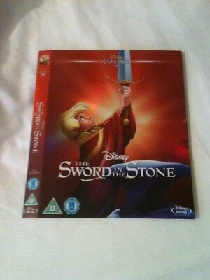 Sword In The Stone Disney Classics Blu Ray O Ring Slipcase Sleeve Cover Only
