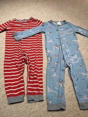 Baby Boden Sleep Suits Age 12-18 Months