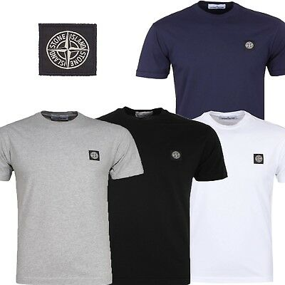Stone Island Polo Men's Short Sleeve Crew Neck T-shirt New