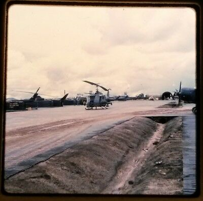 Vietnam Slide- 2 Tour Army GI with 18TH ENGINEER BRIGADE collection 1966-70 #91