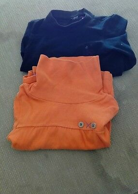 lot 2 t-shirt fille col roule, 2 ans
