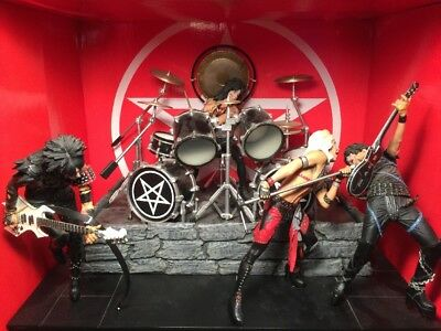 McFarlane Motley Crue Shout at the Devil Deluxe Action Figure Set Loose As Is