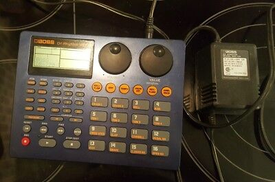 Boss Dr.rhythm Dr-770 Drum Machine W/power Supply