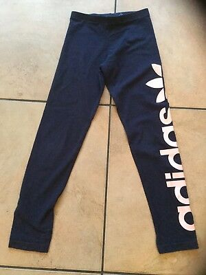 girls Adidas  leggings Age 9 -10 Years