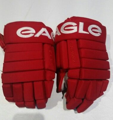 Red Wings Eagle hockey gloves 14""