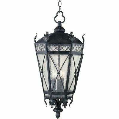 Maxim 30459CDAT Canterbury 3 Light Outdoor Lantern Pendant