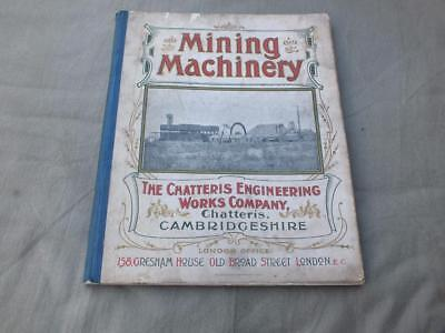 Antique Mining Machinery Catalogue Chatteris Engineering Works Company Steam