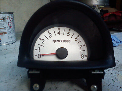 Fiat Seicento Sporting Centre Dash Rev Counter 8k Limit (Project Custom)