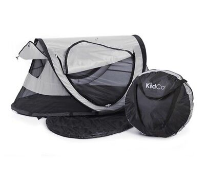 KidCo Baby Pea Pod Plus Infant/Child Screened in Travel Bed/Tent Midnight NEW